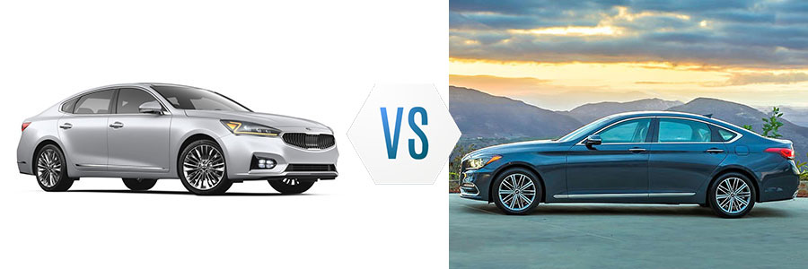 2017 Kia Cadenza Limited vs Genesis G80