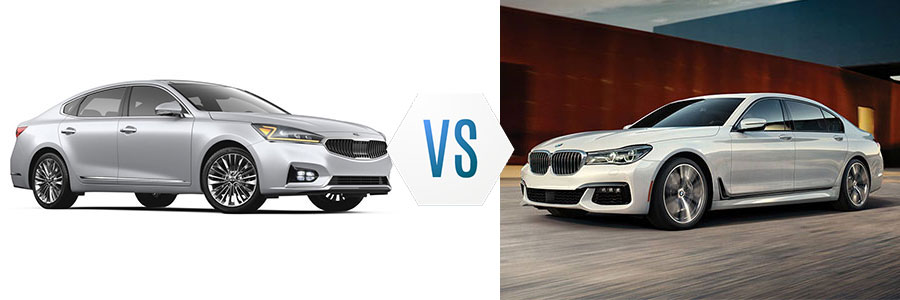 2018 Kia Cadenza Limited vs BMW 7 Series