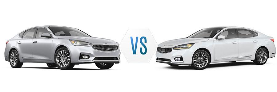 2017 Kia Cadenza Premium vs Limited