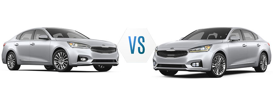 2018 Kia Cadenza Premium vs Limited