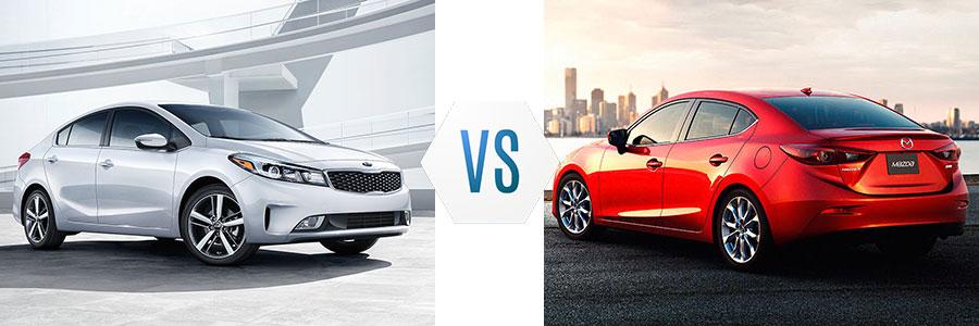 2017 Kia Forte vs Mazda 3