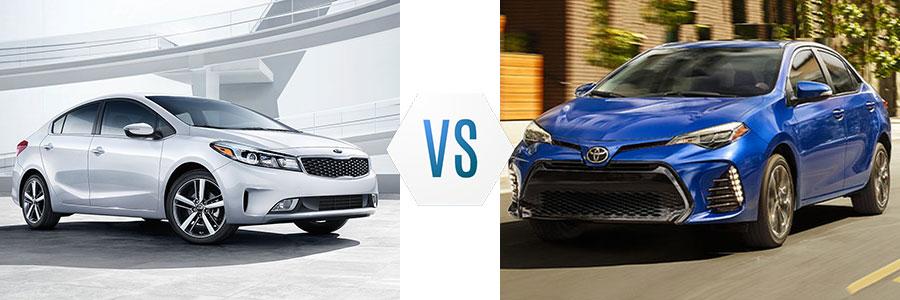 2017 Kia Forte vs Toyota Corolla