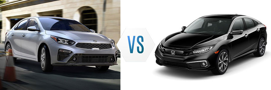 2019 Kia Forte vs Honda Civic