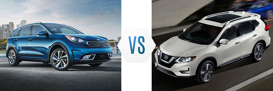 2018 Kia Niro vs Nissan Rogue