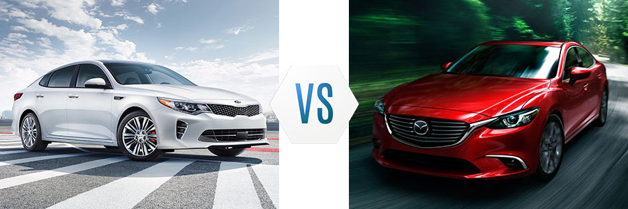 2017 Kia Optima vs Mazda 6