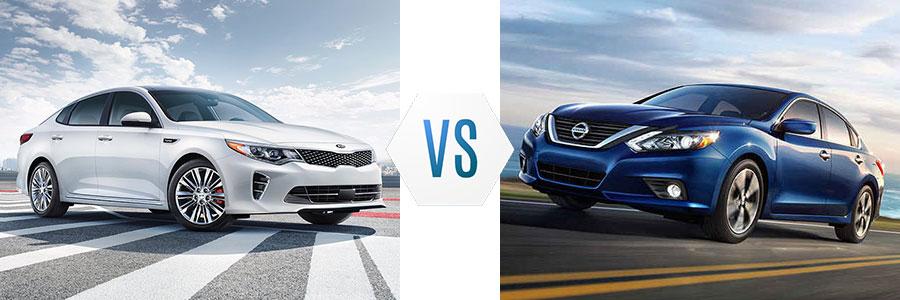 2017 Kia Optima vs Toyota Camry