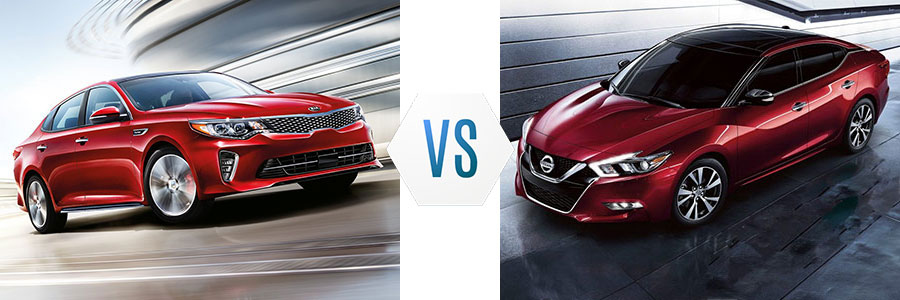 2018 Kia Optima vs Nissan Maxima