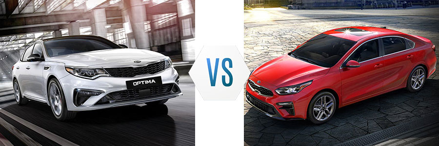 Kia Optima vs Kia Forte