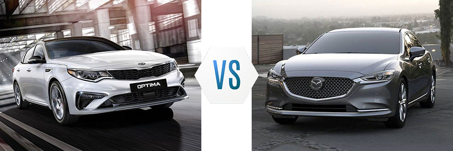 2019 Kia Optima vs Mazda6