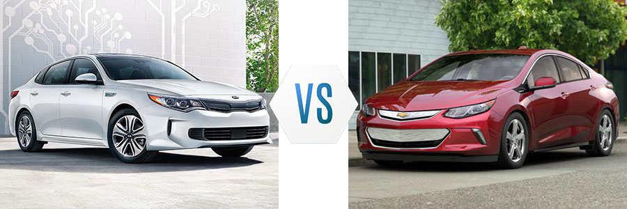 2017 Kia Optima Hybrid vs Chevrolet Volt