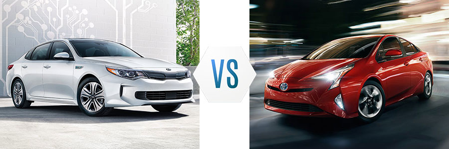 2017 Kia Optima Hybrid vs Toyota Prius