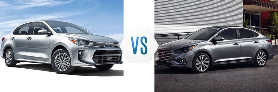 2018 Kia Rio vs Hyundai Accent