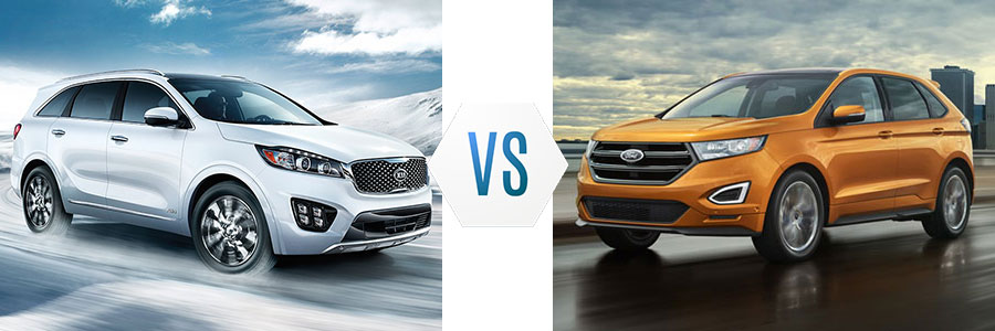2017 Kia Sorento vs Ford Edge