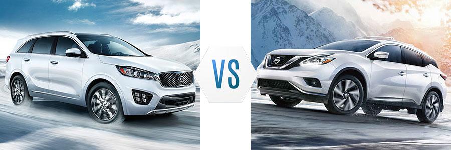 2017 Kia Sorento vs Nissan Pathfinder