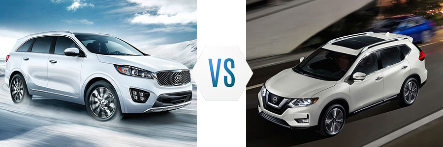 2017 Kia Sorento vs Ford Explorer