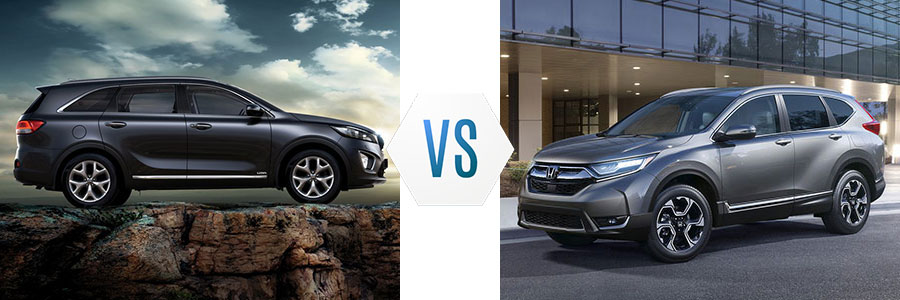 2018 Kia Sorento vs Honda CR-V