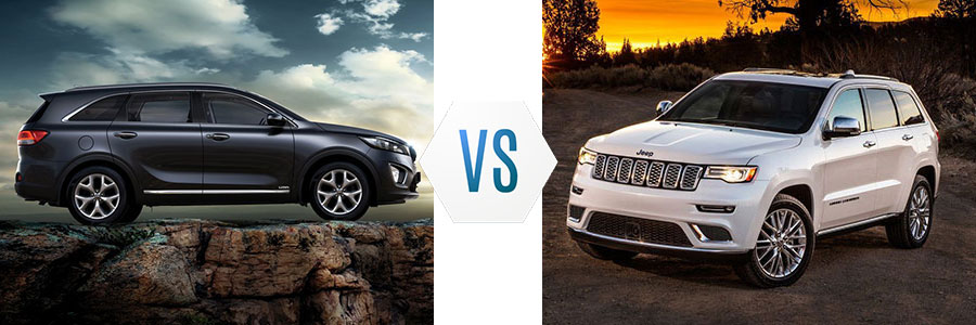 2018 Kia Sorento vs Jeep Grand Cherokee