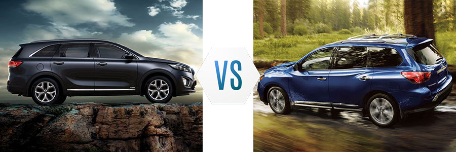 2018 Kia Sorento vs Nissan Pathfinder