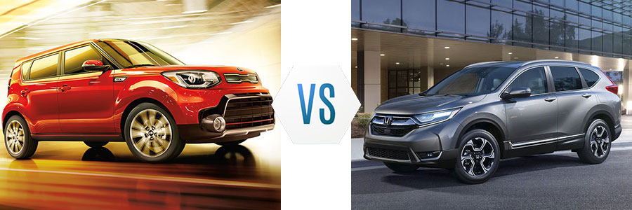 2018 Kia Soul vs Honda CR-V