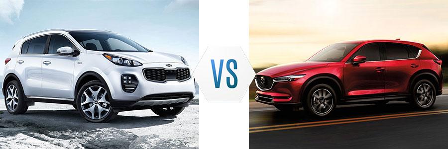2017 Kia Sportage vs Jeep Cherokee