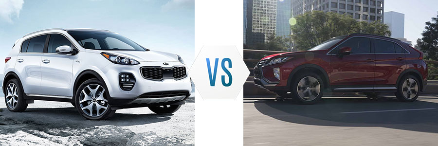 2019 Kia Sportage vs Mitsubishi Eclipse Cross