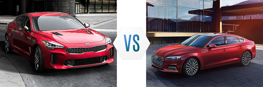 2018 Kia Stinger vs Audi A5
