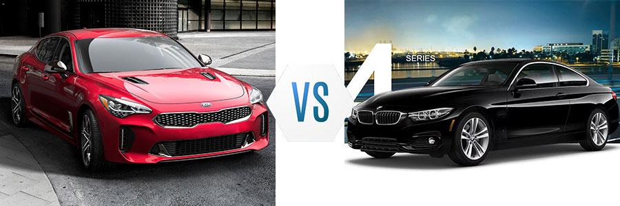 2018 Kia Stinger vs BMW 4 Series