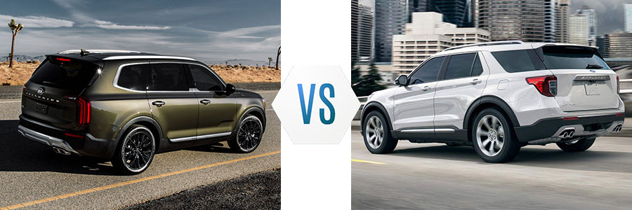 2020 Kia Telluride vs Ford Explorer