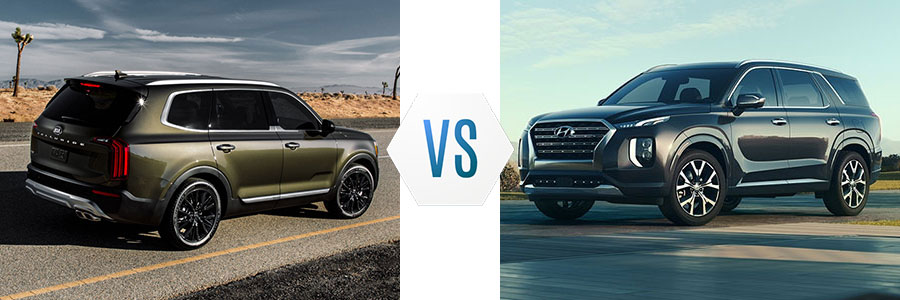 2020 Kia Telluride vs Hyundai Palisade