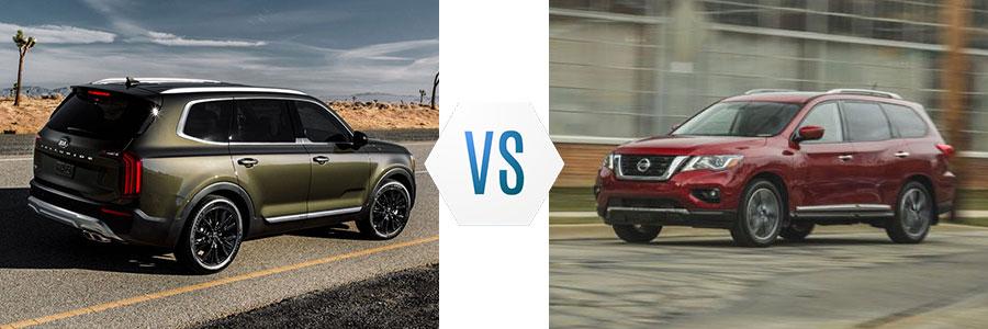 2020 Kia Telluride vs Nissan Pathfinder