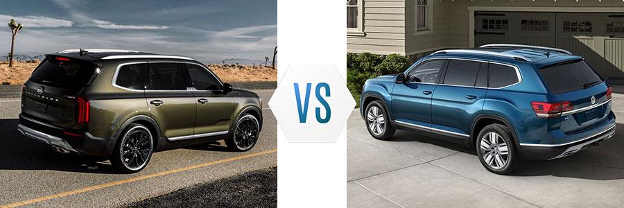 2020 Kia Telluride vs Volkswagen Atlas