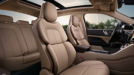 2017 Lincoln Continental Perfect Position Seat