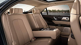 2017 Lincoln Continental Rear-Seat Luxury