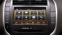2016 Lincoln MKC Sync 3 Infotainment
