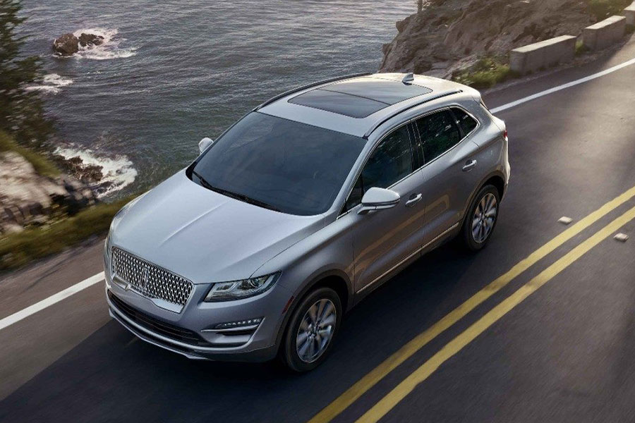 2019 Lincoln MKC on the Road