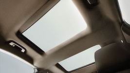 2016 Lincoln MKS Dual-Panel Moonroof