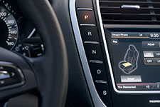 2016 Lincoln MKX Push-Button Shifter