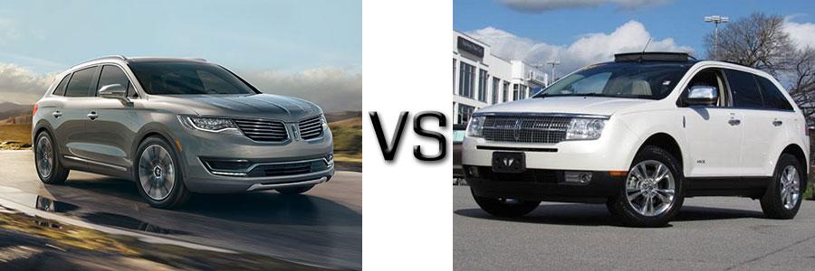 2016 Lincoln MKX vs 2010 MKX