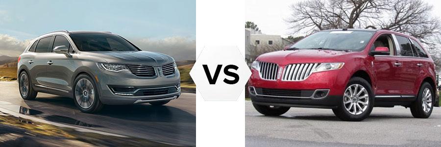 2016 Lincoln MKX vs 2012 MKX