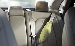 2016 Lincoln MKZ Inflatable Second-Row Safety Belts