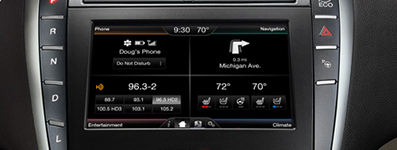 2016 Lincoln MKZ SYNC with MyLincoln Touch