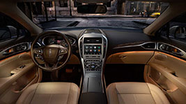 2017 Lincoln MKZ Ambient Interior Lighting