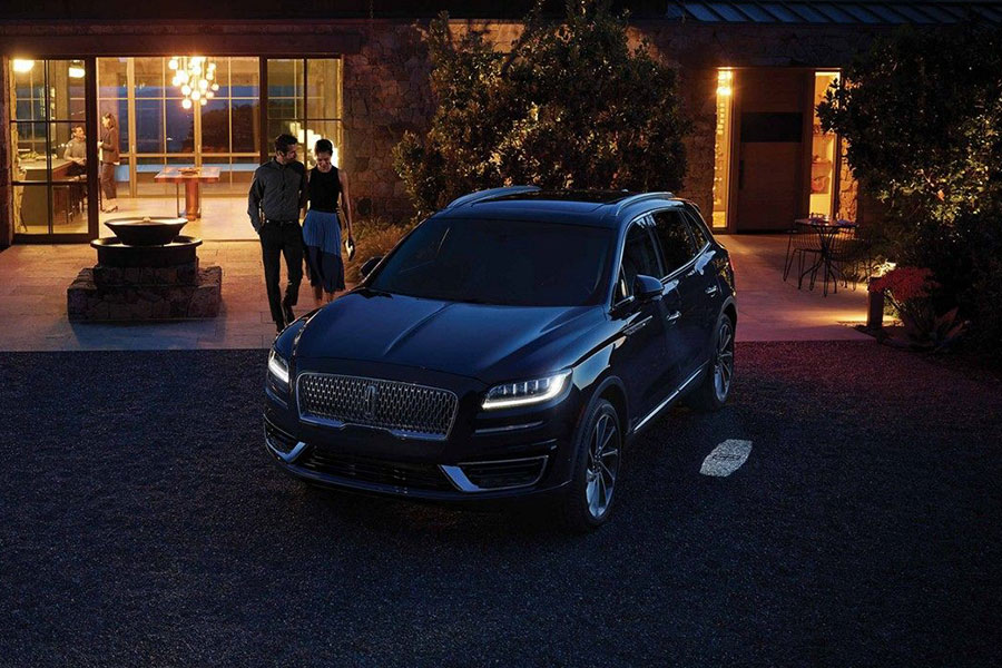 2019 Lincoln Nautilus Light Effects