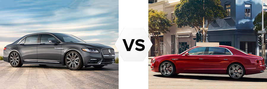 2017 Lincoln Continental vs Bentley Flying Spur