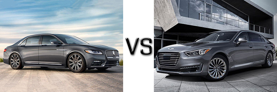 2017 Lincoln Continental vs Hyundai Genesis 690