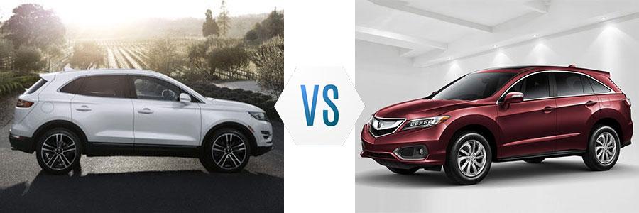 2017 Lincoln MKC vs Acura RDX
