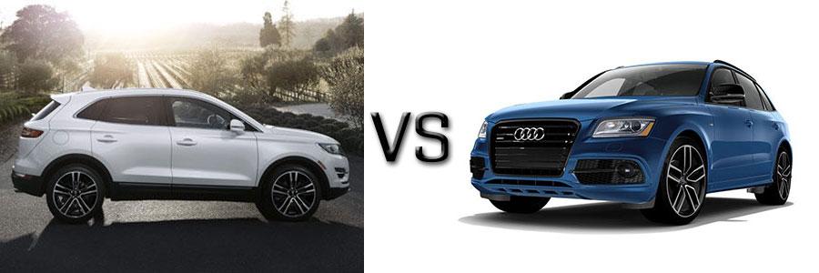 2017 Lincoln MKC vs Audi Q5