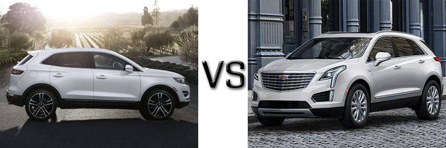 2017 Lincoln MKC vs Cadillac XT5