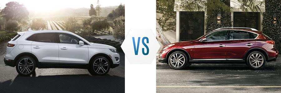 2017 Lincoln MKC vs Infiniti QX50