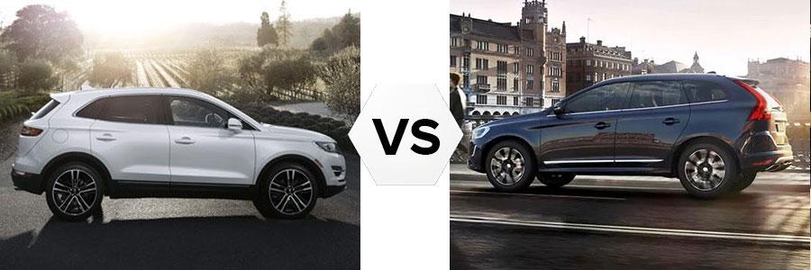 2017 Lincoln MKC vs Volvo XC60